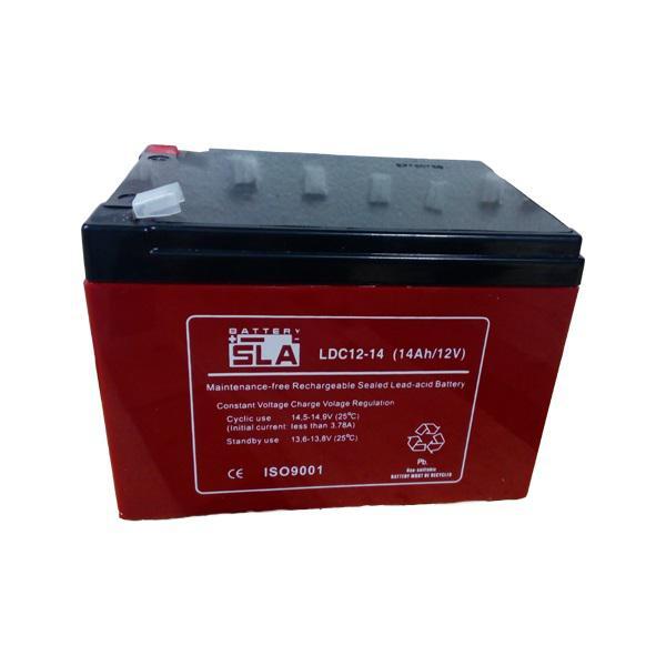 Reddot ciklikus akkumulátor 12 V/14 Ah (kerékpár akkumulátor)