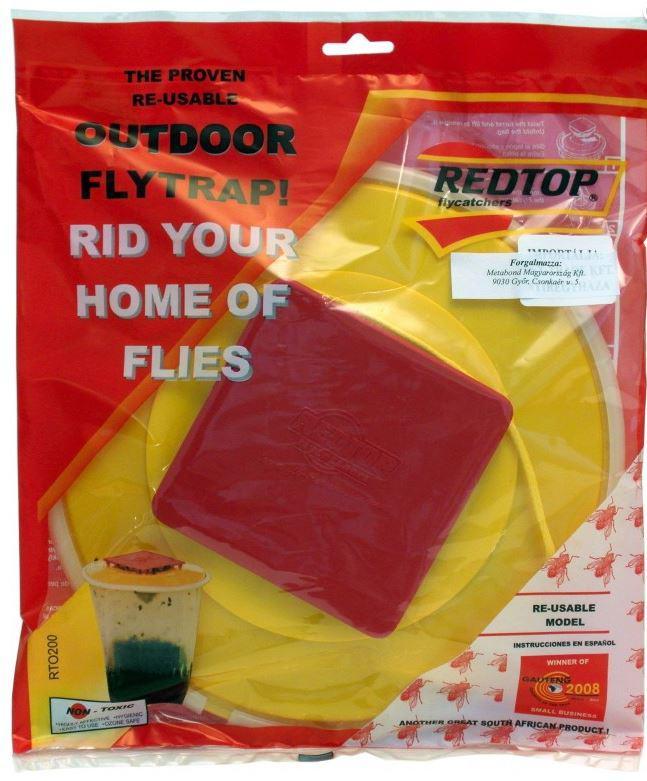 Redtop légyfogó rovarcsapda utántölthető
