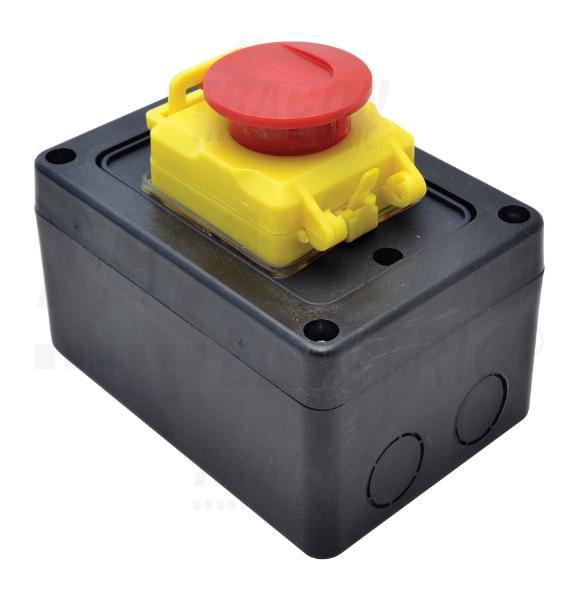 Relés biztonsági kapcsoló doboz