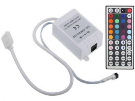 RGB vezérlő infra távirányítású 72W 44 gombos