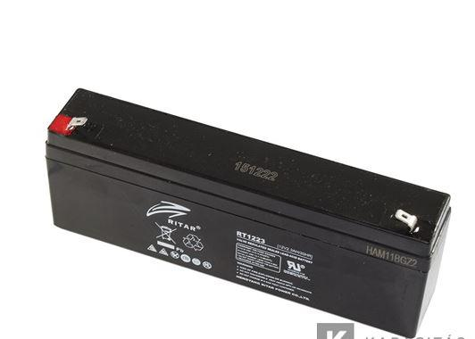 Ritar RT1223 12V 2,3Ah zselés akkumulátor