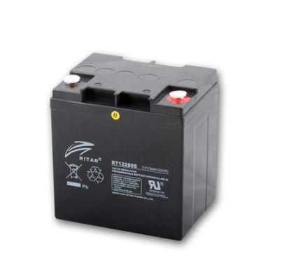 Ritar RT12280S 12V 28Ah zselés akkumulátor