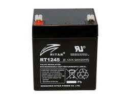 Ritar RT1245E 12V 4,5Ah zselés akkumulátor Riasztóhoz