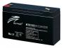 Ritar RT6120 6V 12Ah zselés akkumulátor