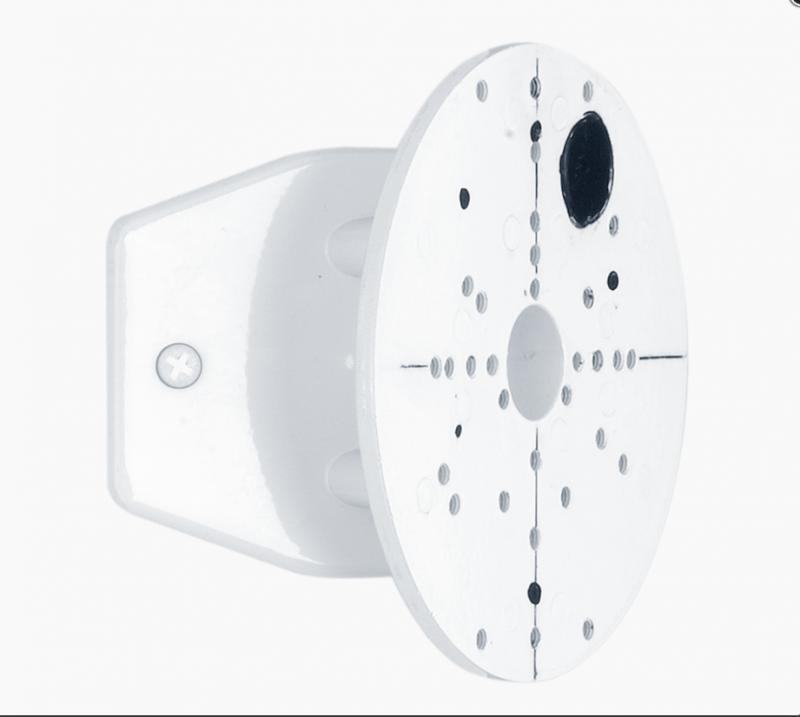 Sarokkiképzés kültéri lámpához fehér