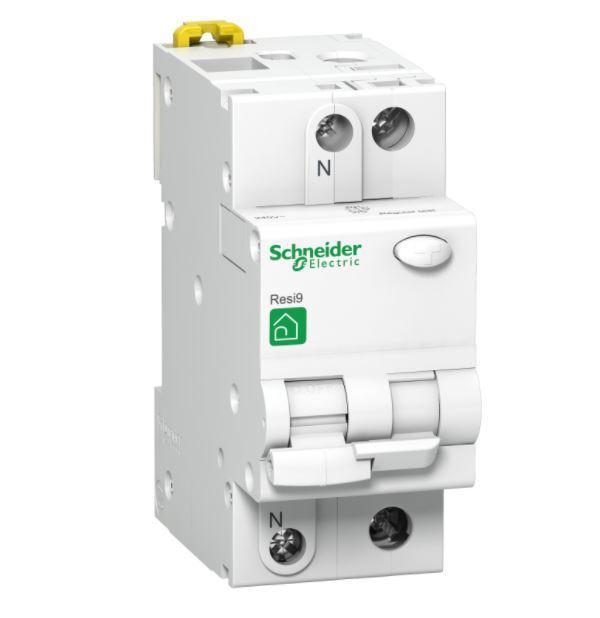 Schneider Electric áram-védőkapcsoló 2 pólusú kombinált (Fi-relé) 16A 30mA C16
