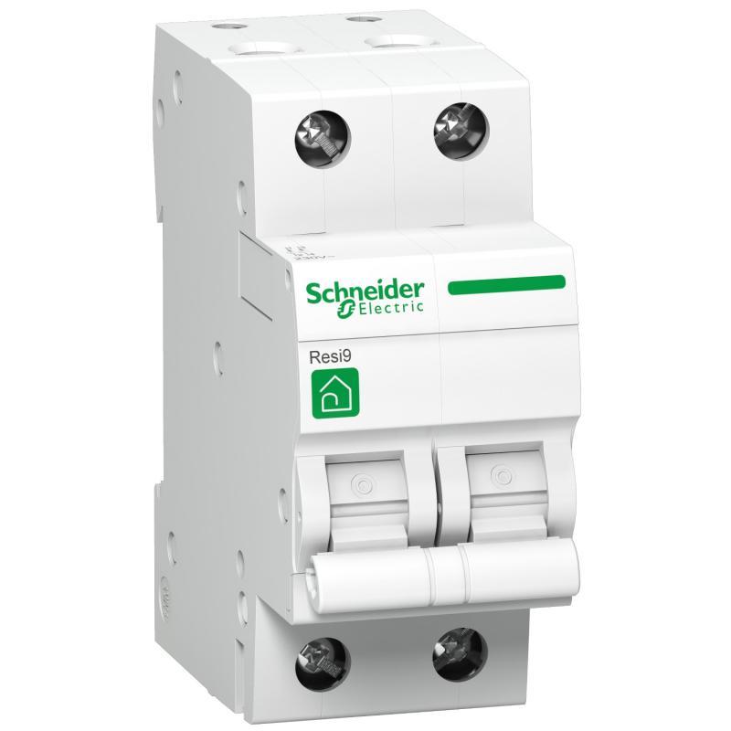Schneider Resi9 kismegszakító 2P C 6A 4,5kA