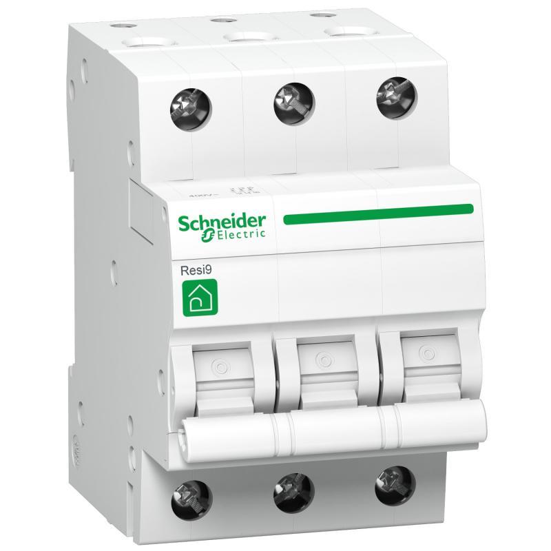 Schneider Resi9 kismegszakító 3P C 16A 4,5kA