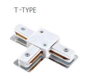 Sínes LED lámpához T elem fehér