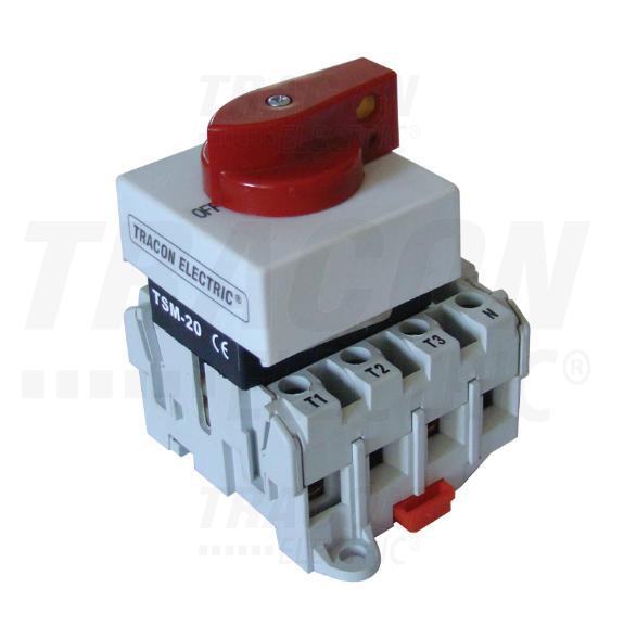 Sorolható lakatolható szakaszoló kapcsoló 20A/4P