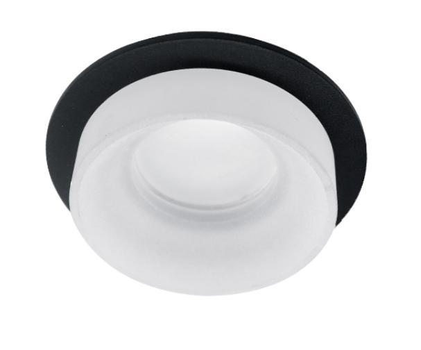 Spot lámpatest SA-045/1 kerek fekete/fehér