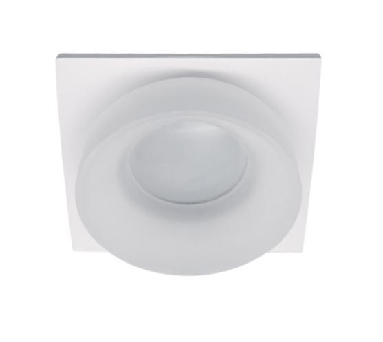 Spot lámpatest SA-045/1 négyzet fehér/fehér