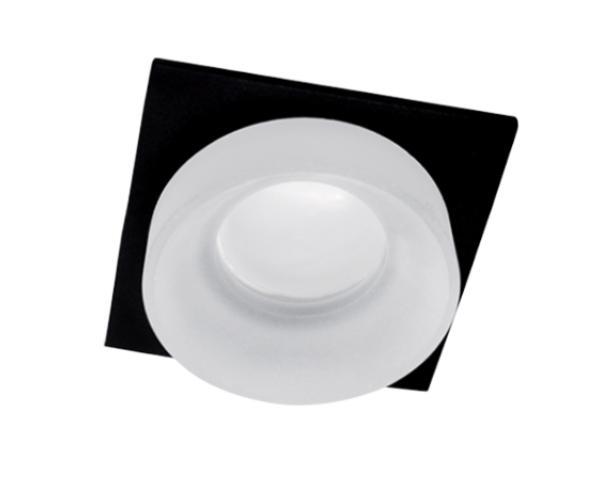 Spot lámpatest SA-045/1 négyzet fekete/fehér