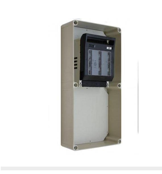 Szakaszoló biztosító szekrény PVT 3045 SB NH00