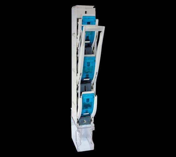Szakaszoló kapcsoló függőleges 400A NT2