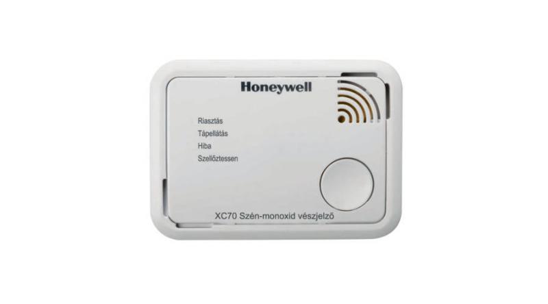SZÉN-MONOXID-ÉRZÉKELŐ HONEYWELL XC70-HU-A (ALARM SCAN APP)