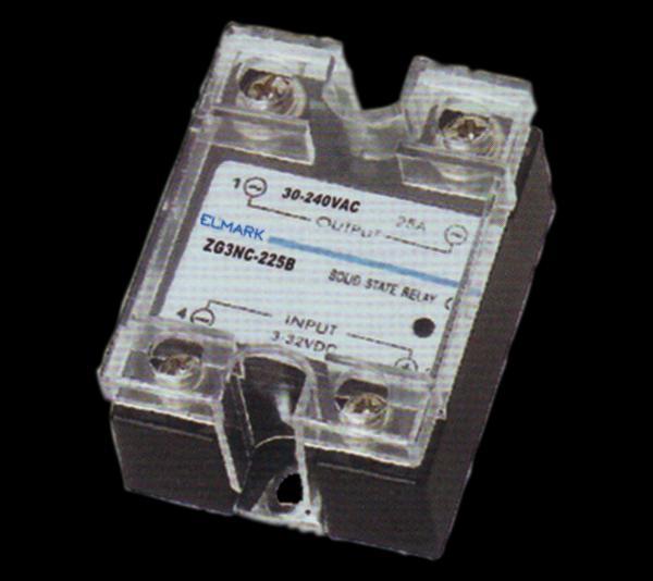 Szilárd test relé SSR ZG3NC-2-25B 230VAC