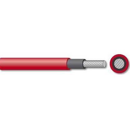Szolár kábel 6mm2 piros