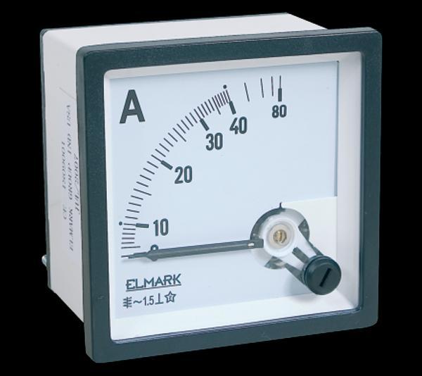 Táblaműszer Analóg Áramerősség mérő műszer DC 0-5A