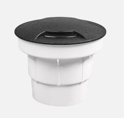 Talaj, járófelületbe süllyeszthető lámpatest gu-10 CECI fekete