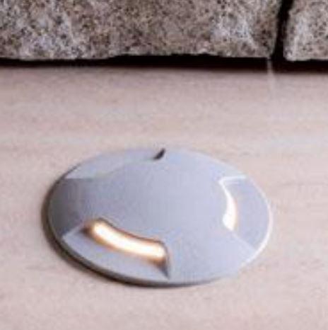 Talaj, járófelületbe süllyeszthető lámpatest gu-10 CECI szürke