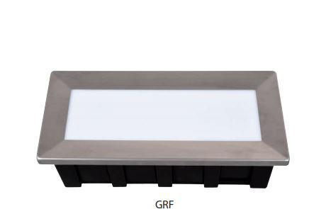 Talajba-falba süllyeszthető lámpatest 3,5W GRFLED0041