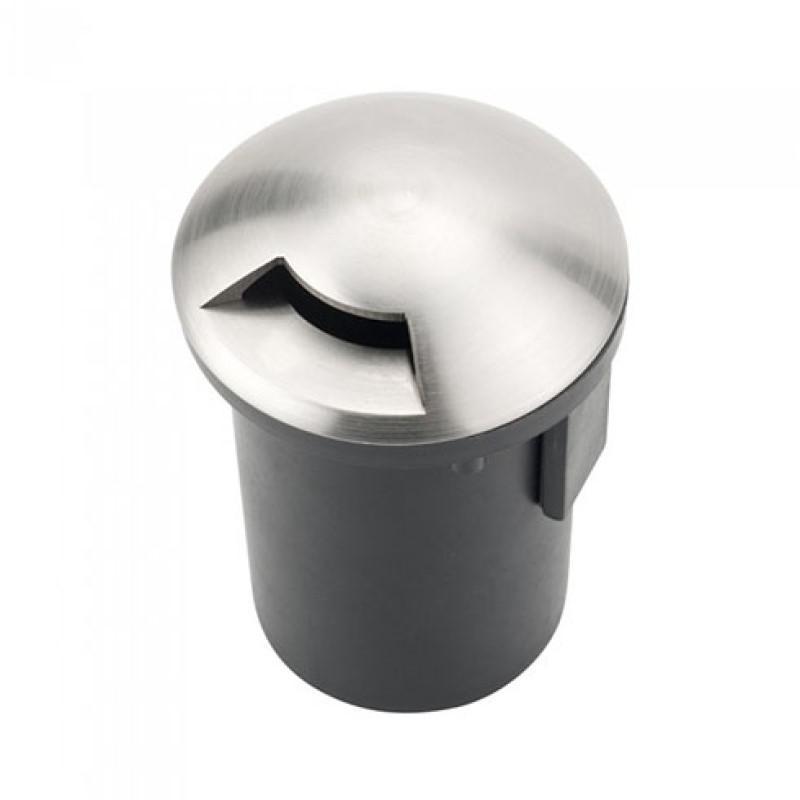 Talajba süllyeszthető lámpatest MR16 ezüst-fekete