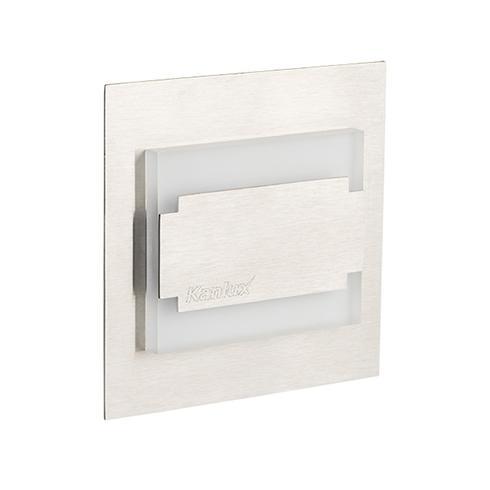 TERRA MINI oldalfali dekor LED lámpa 12V/0,8W hideg fehér