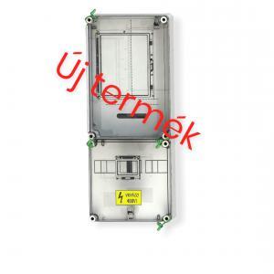 CSATÁRI PLAST PVT 3075 FM-SZ 1/3 fázisú villanyóra szekrény (nappali) 80A földkábeles