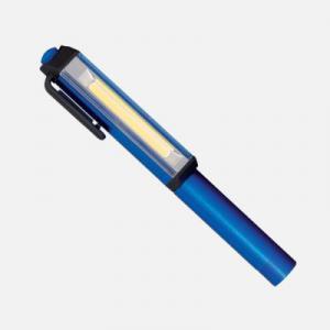 Elemes LED kézi lámpa mágneses rögzítő clippel