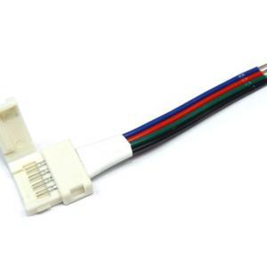 Forrasztásmentes betáp beltéri RGB LED szalaghoz