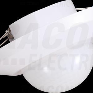 Jelenlét érzékelő 360° fehér süllyesztett/mennyezeti