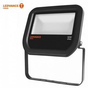Osram ledvance 50W meleg fehér IP65 fekete LED reflektor
