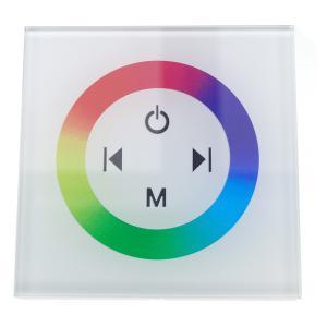 RGB vezérlő érintős fali 144W