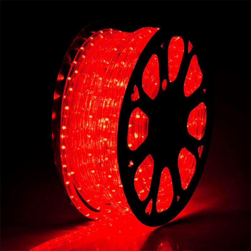 Total Green Led fénykábel piros