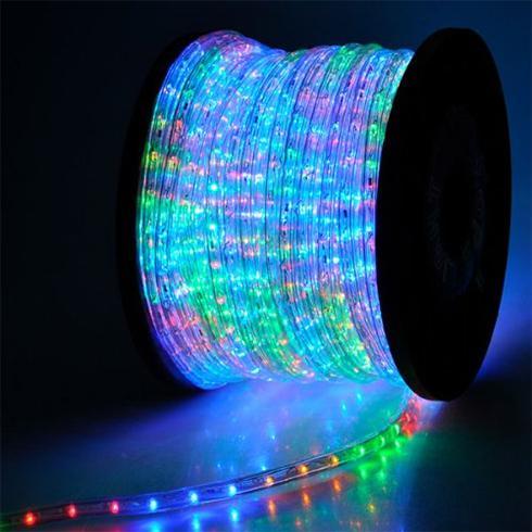 Total Green Led fénykábel színes RGBY