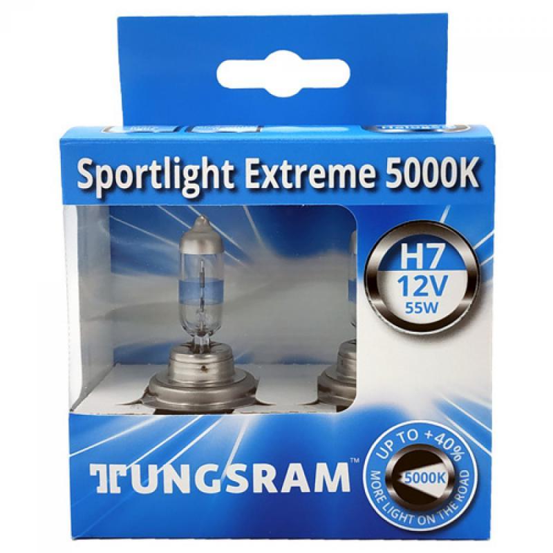Tungsram Sportlight Extreme +40% H7 5000K