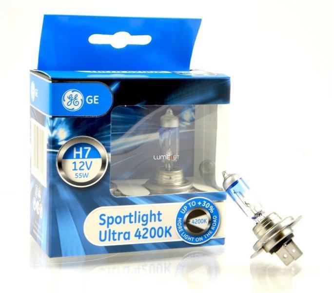 Tungsram/GE H7 Sportlight Ultra+30% 55W 4200K