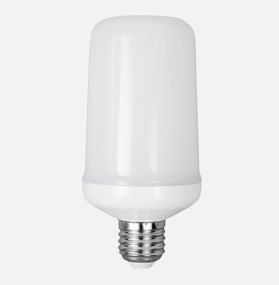 Tűzlángot imitáló LED izzó E-27 extra meleg fehér