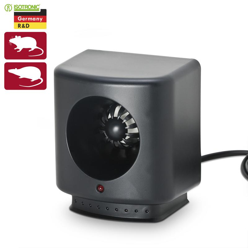 Ultrahangos rágcsálóriasztó LED visszajelző