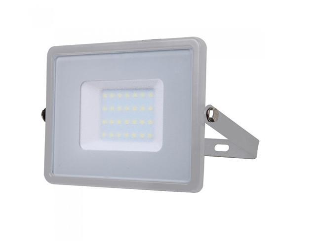 V-TAC PRO LED reflektor (30 Watt/100°) Természetes fehér - szürke