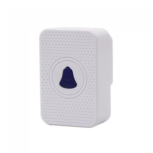 V-TAC Vezeték nélküli csengő Smart kaputelefonhoz, fehér IP54