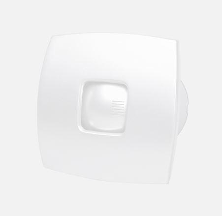 Ventilátor csendes kivitel, csőventilátor szeleppel ALS-V120 fehér
