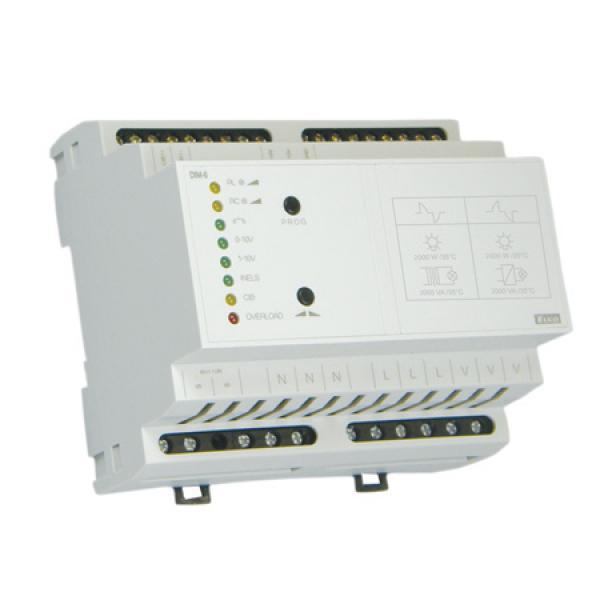 Vezérelhető fényerőszabályzó kapcsoló RLC DIM-6 2000VA