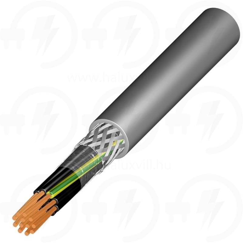 Vezérlő kábel YSLCY-JZ 3x1,5mm2