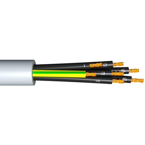 Vezérlő kábel YSLY-JZ 5x6mm2