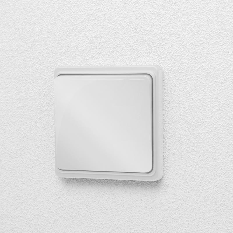 Vezeték nélküli kapcsoló - fényes fehér