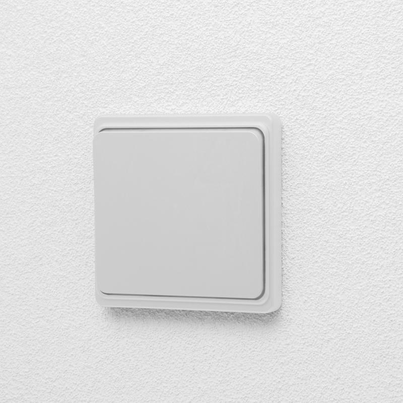 Vezeték nélküli kapcsoló - matt fehér