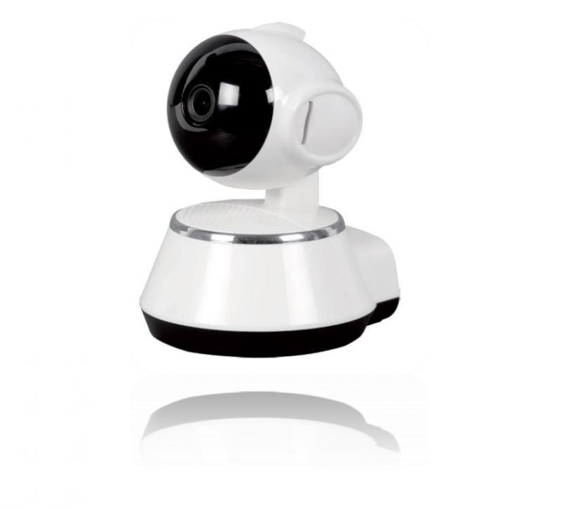 Wi-Fi IP kamera mozgásérzékelővel, SD kártya opcióval Forgatható