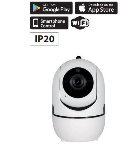 WiFi  Smart kamera 1MP IP20